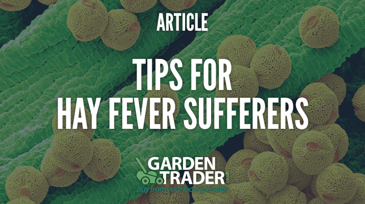 Tips for hay fever sufferers