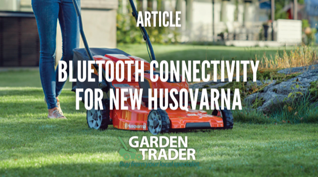 BLUETOOTH CONNECTIVITY FOR NEW HUSQVARNA