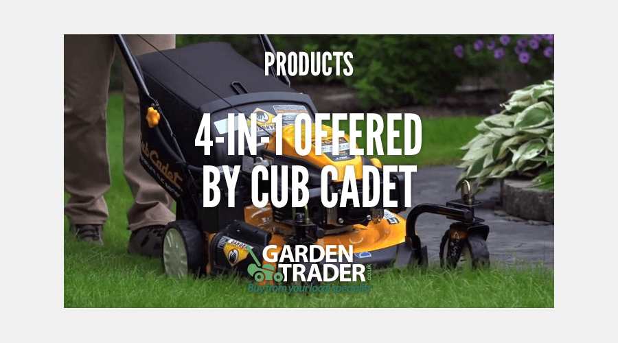 4-IN-1 OFFERED BY CUB CADET