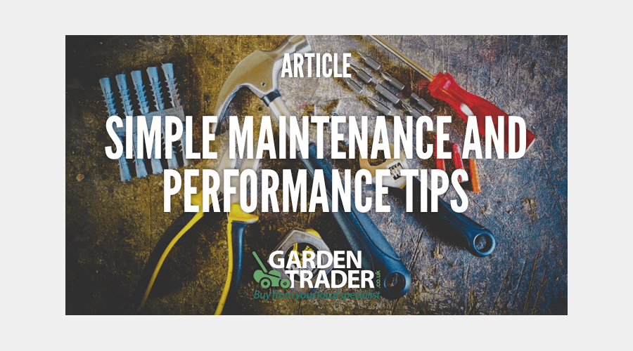 Simple Maintenance and Performance Tips
