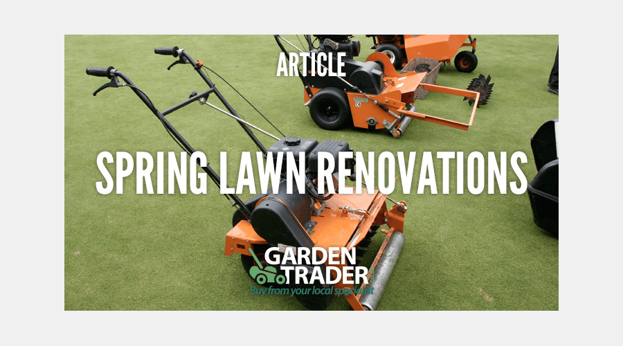 Spring Lawn Renovations