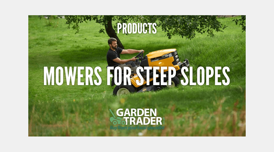 MOWERS FOR STEEP SLOPES