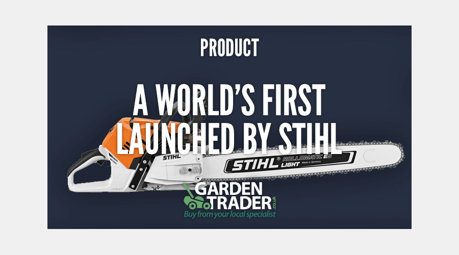 A World's First Launched By Stihl