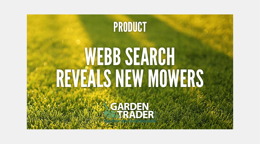 WEBB search reveals new mowers