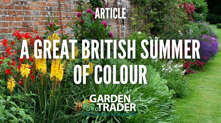 A great British summer of colour