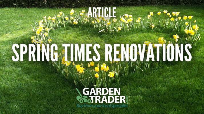 Spring Time Renovations